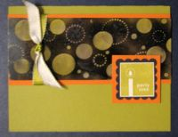 Party Time Soot Card