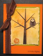 Spooky Nights Card