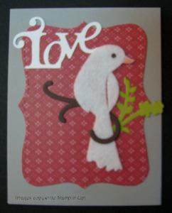 love-felt-bird
