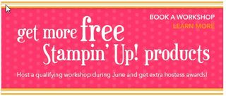 Free Stampin' Up! Products