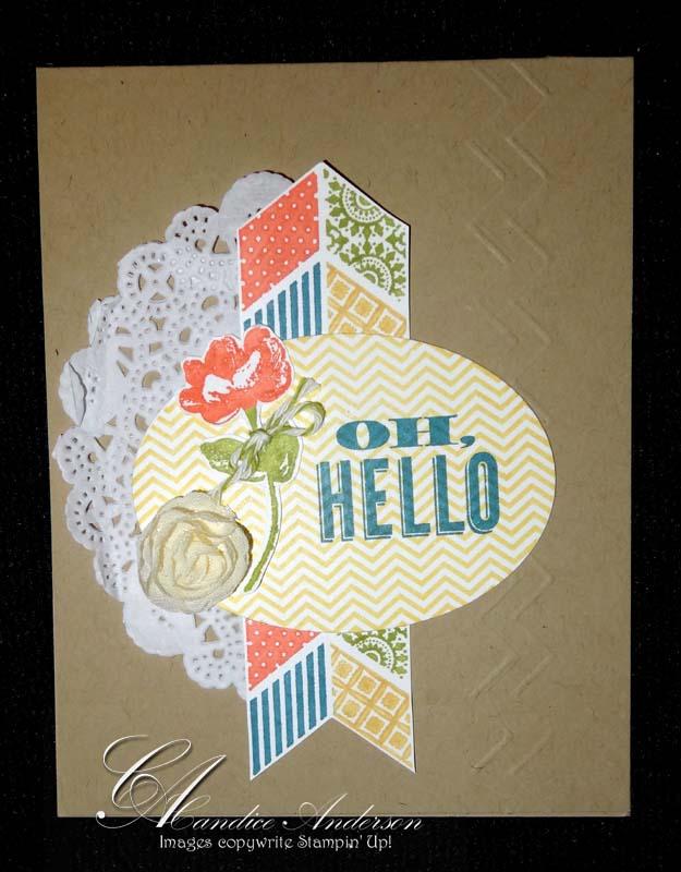 Oh Hello Card
