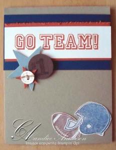 Go Team Card