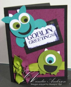 Goblins Card- Club Oct '09