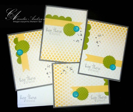 Paper Pumpkin Welcome Kit Cards