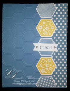 Friend Hexigon Card
