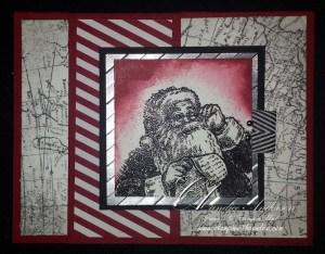 Santa Map Card