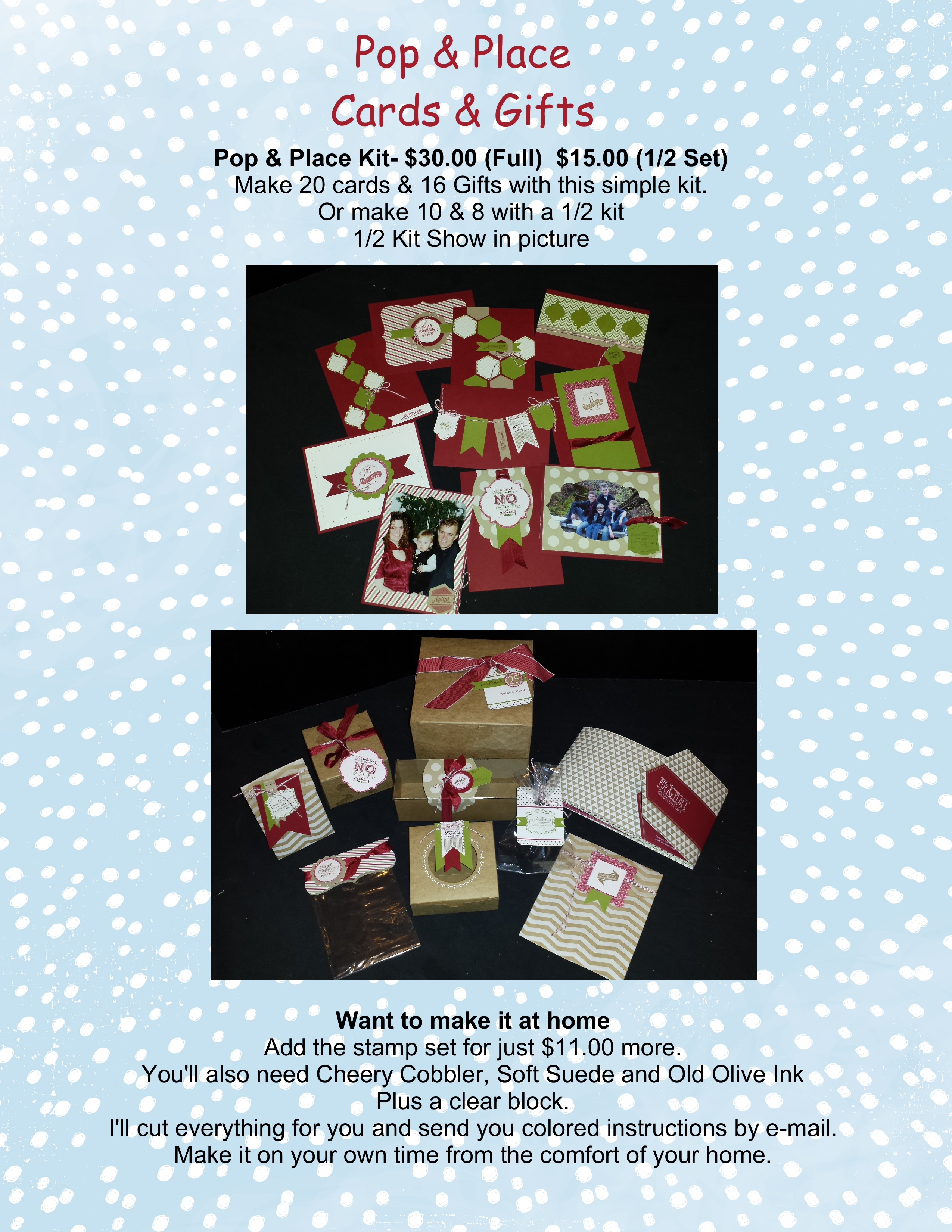 December 2013 Stampin With Candice