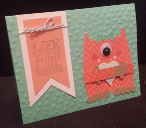 Monster Valentine Card