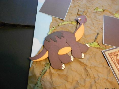 Brown Dino