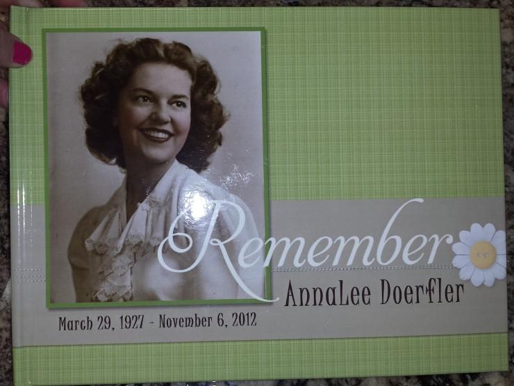 Grandma's book Front