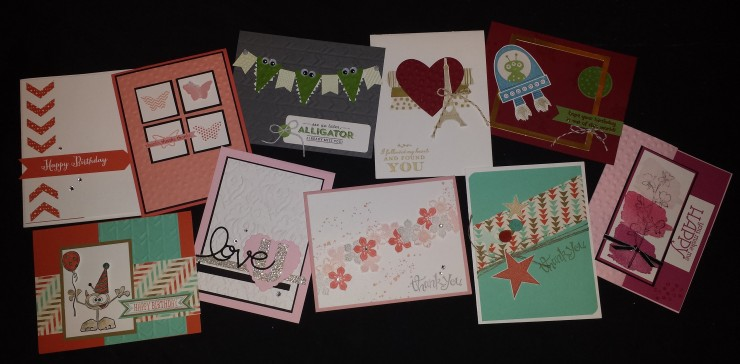 February 2014 Stampin' Buffet Cards