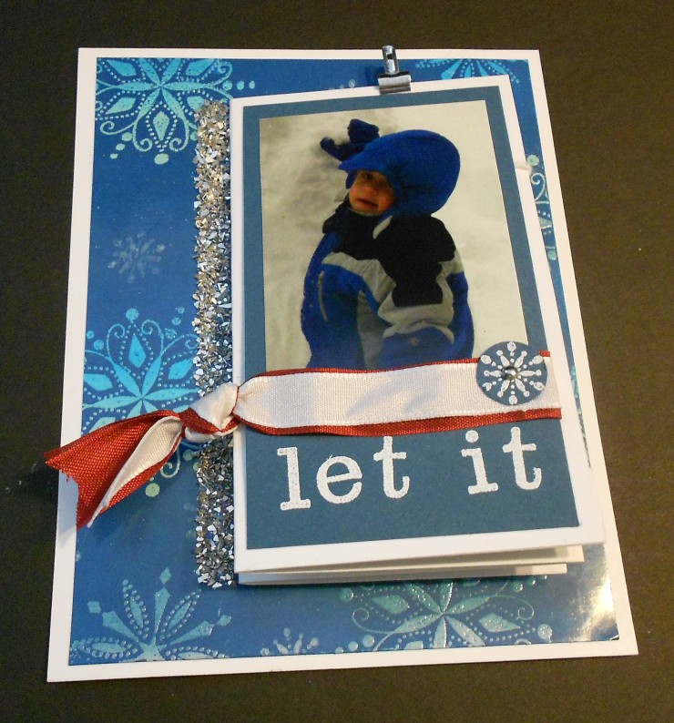 Let it Snow Card - Front