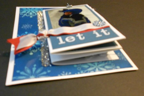 Let it Snow card- Layers