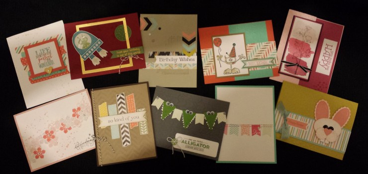 Stampin' Buffet - Club March 2014