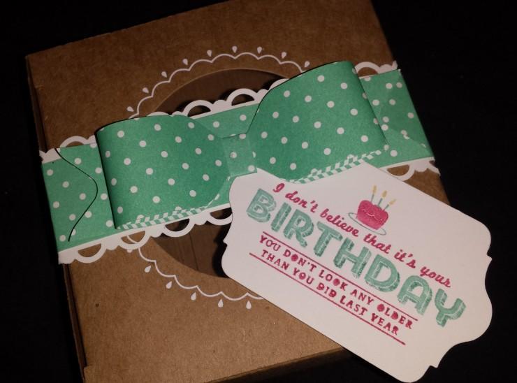 Birthday Bow Box