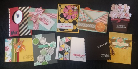 Stampin' Buffet April 2014