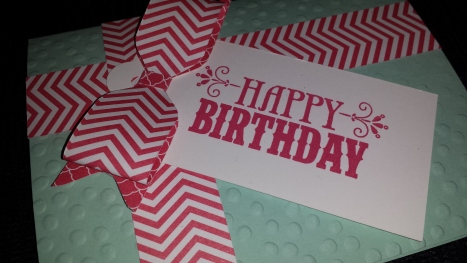 Birthday Bow Card