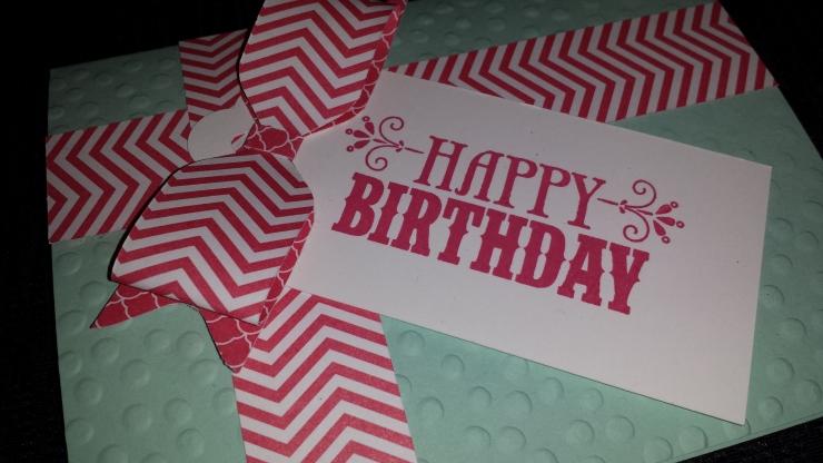 Birthday Bow Card