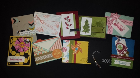 May 2014 Stampin' Buffet