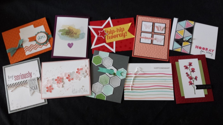 June 2014 Stampin' Buffet