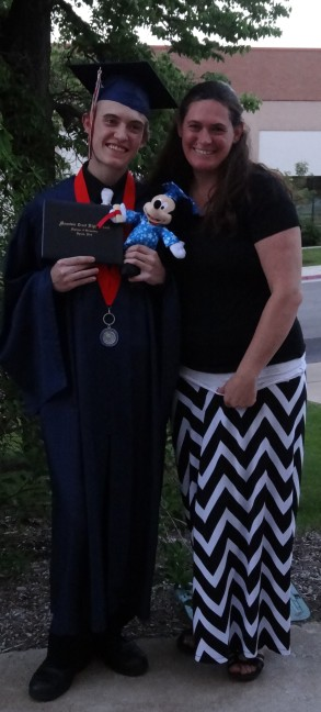 Me & Zack Graduation