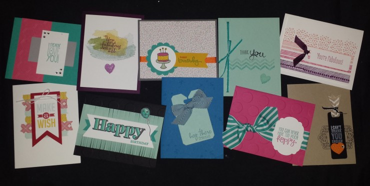 July Stampin' Buffet 2014
