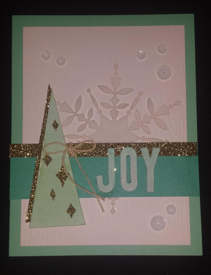 Joy Card Watercolor Winter Kit