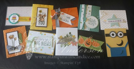Stampin' Buffet September 2014