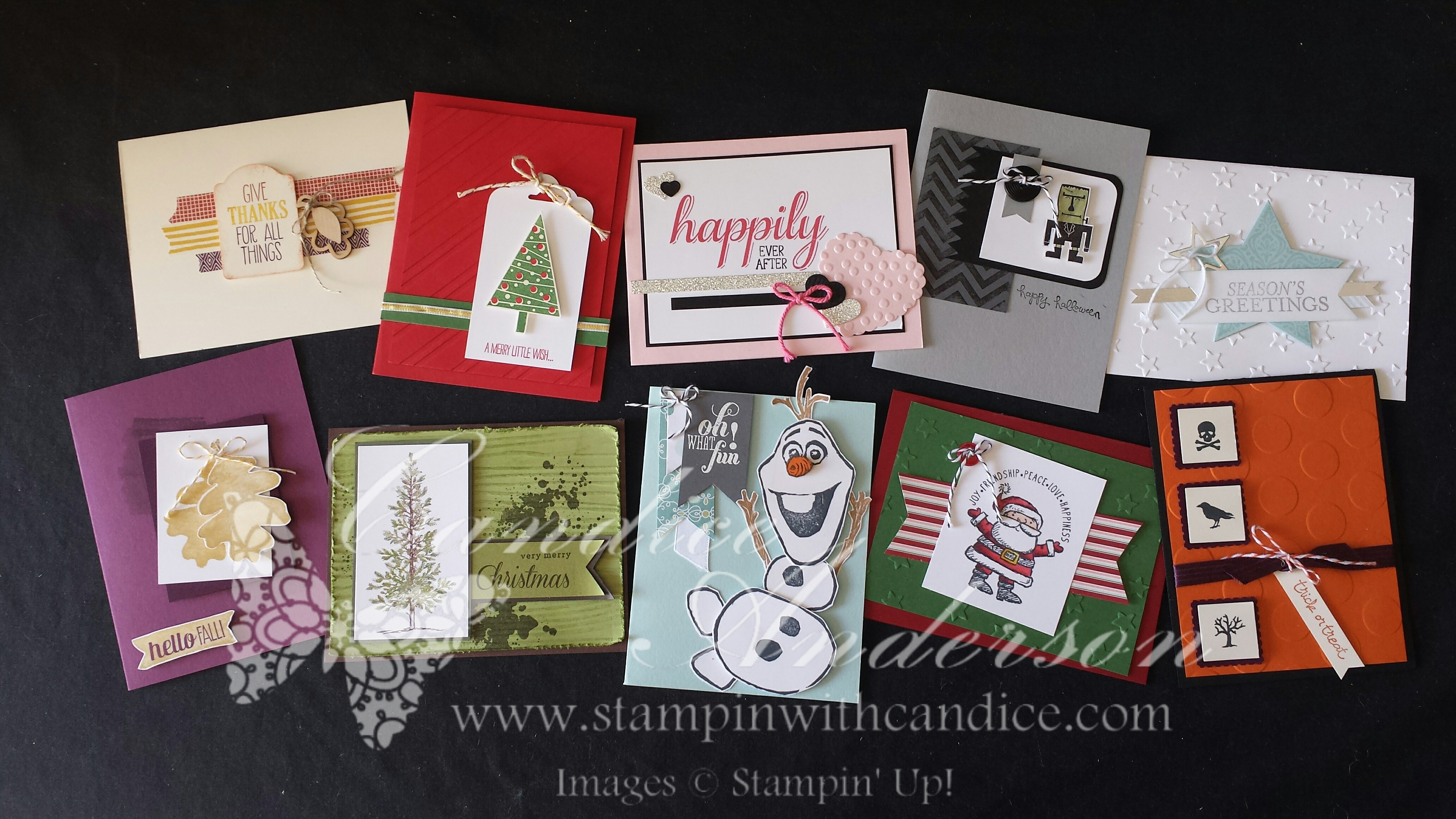 Stampin' Buffet October 2014