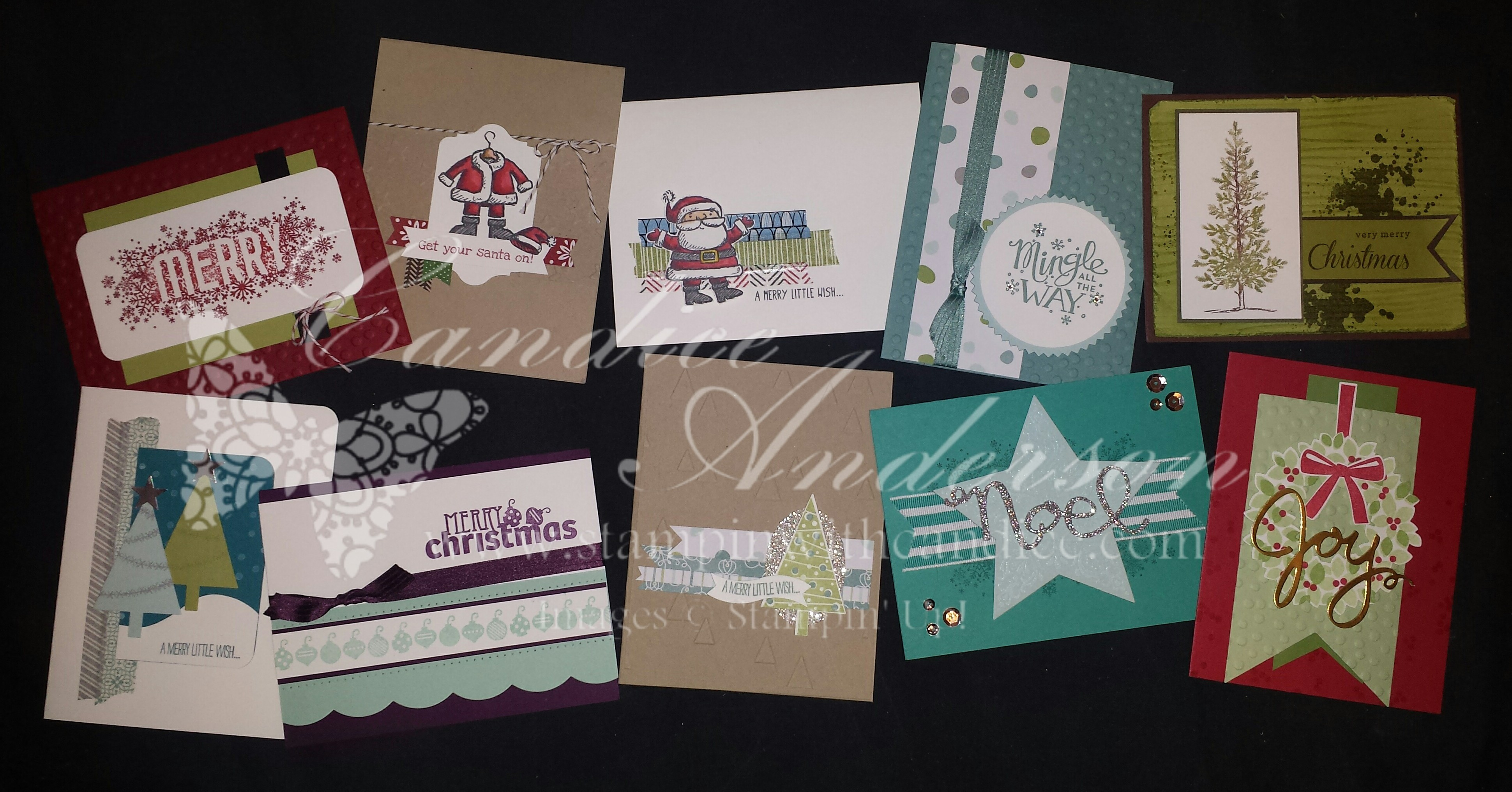 December 2014 Stampin' Buffet