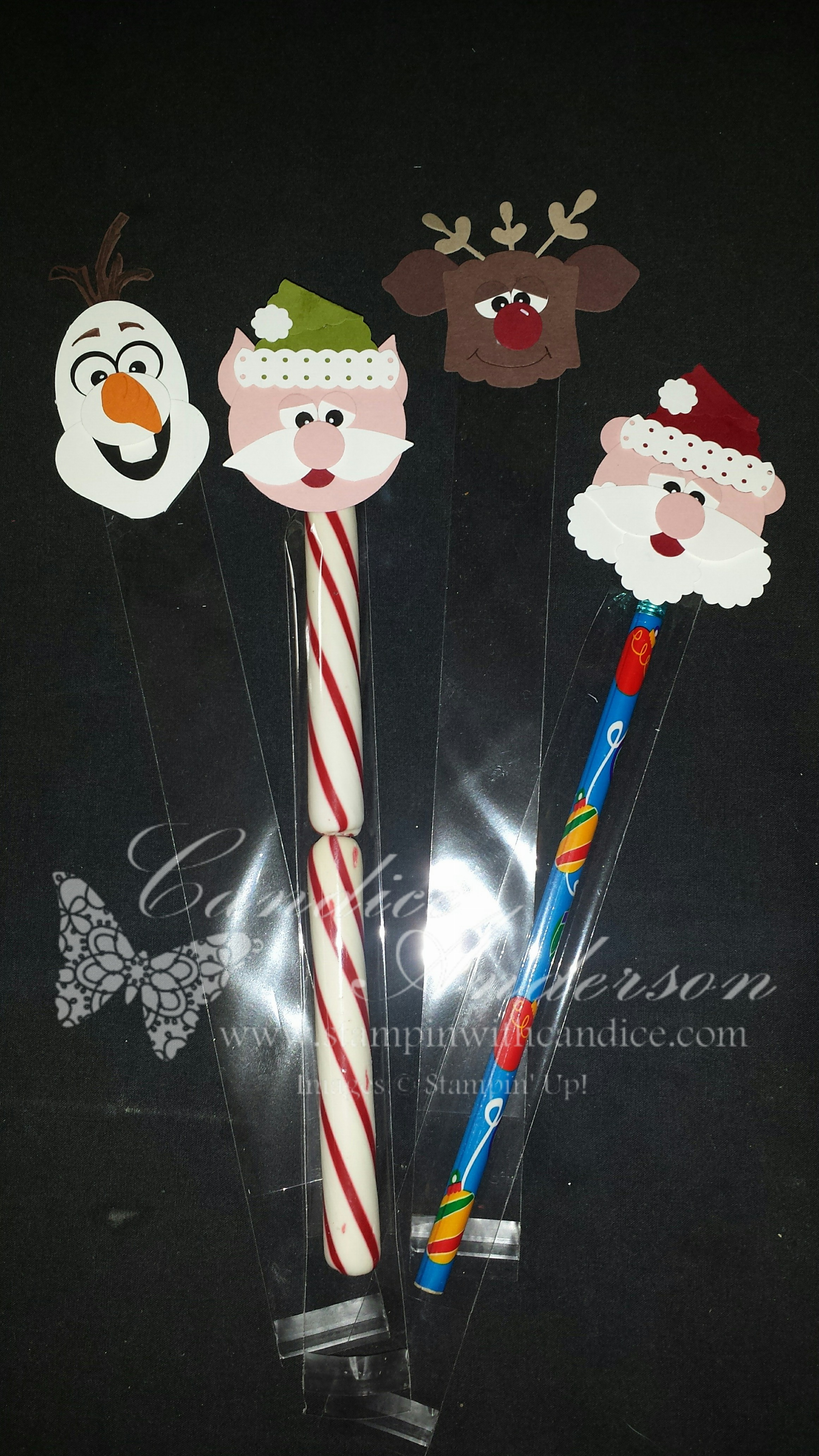 Christmas Character Toppers