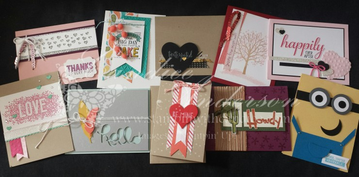 Stampin' Buffet Jan 2015