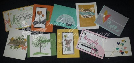 April 2015 Stampin' Buffet
