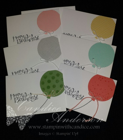 Birthday Class Cards