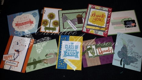June 2015 Stampin' Buffet