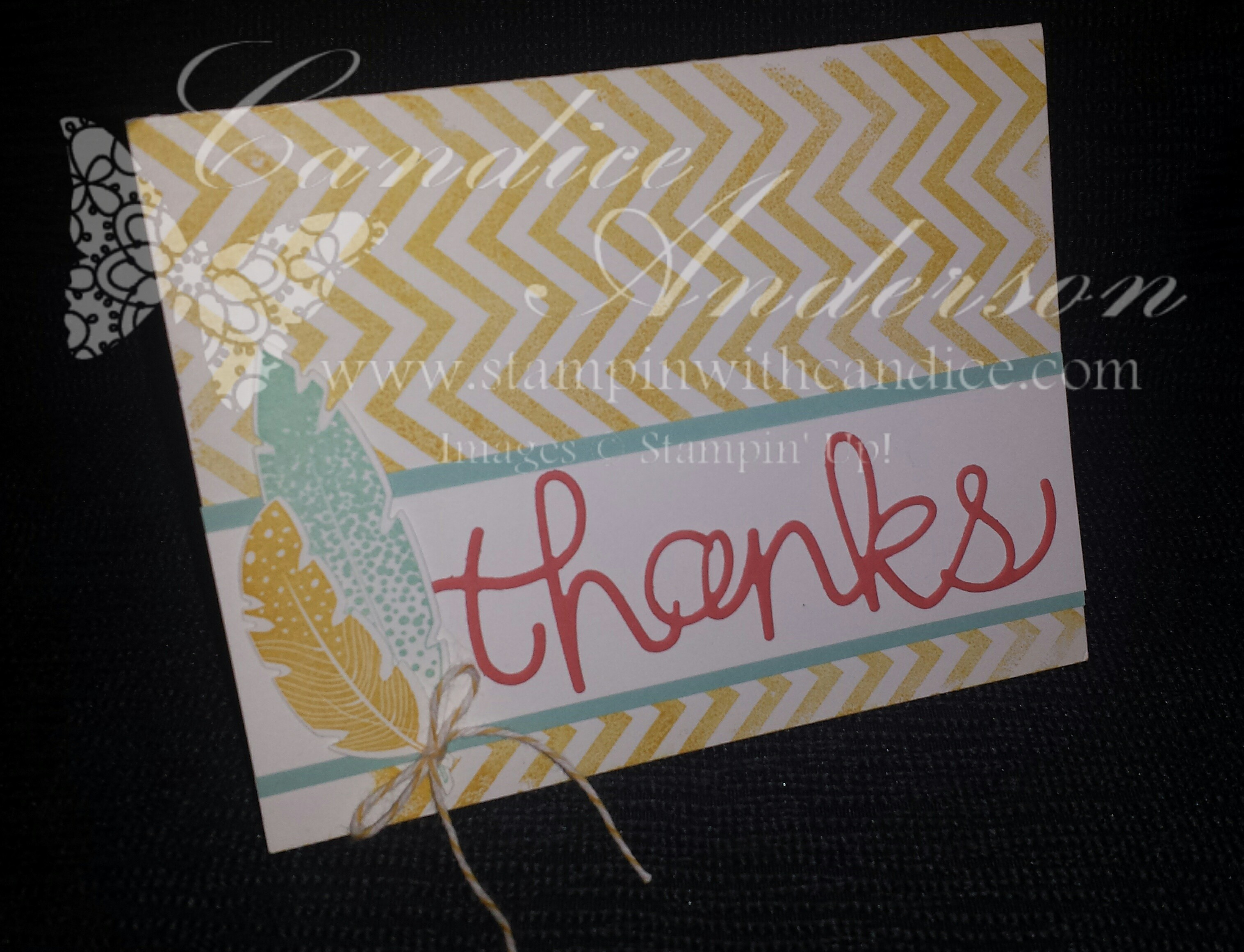 Thanks Card TGIF Challenge