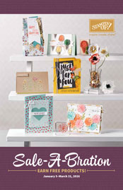 Sale-a-bration Catalog Front