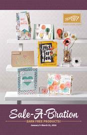 Sale-a-bration Catalog Front