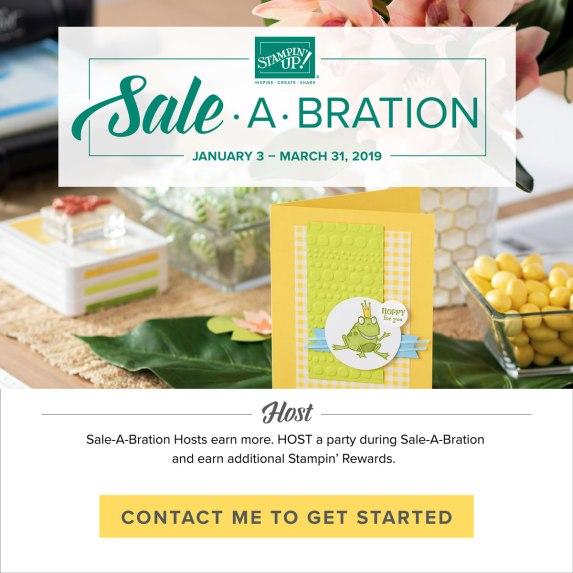 Sale-A-Bration 2019- Hostess Benefits