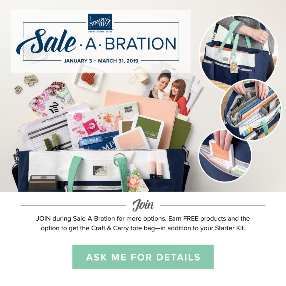 Sale-A-Bration 2019 - Sign Up Bonus