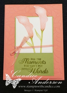 Lasting Lily SAB card for the Avid Stamper