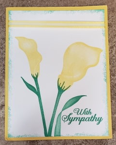 Lasting Lily Card created by Margeen Nation