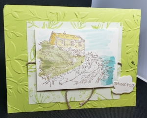By the Bay SAB card by Cherrie Smith