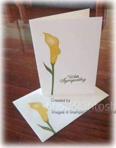 Lasting Lily Card created by Kris Mcintosh