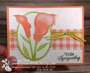 Lasting Lily Card created by Christy Fulk