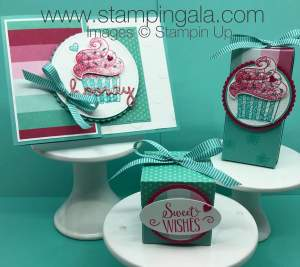 Hello Cupcake SAB card by Stampingala