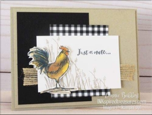 Home to Roost SAB Card by Connie Babbert