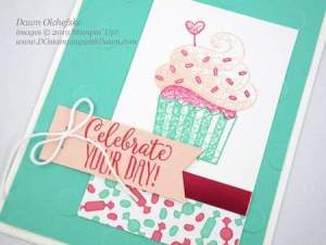 Hello Cupcake SAB card by Dawn Olchefske