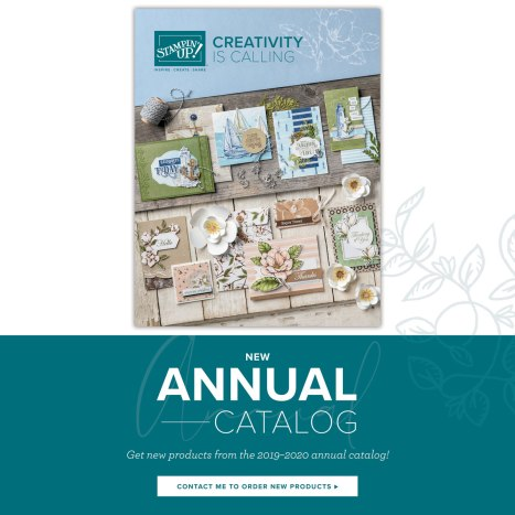 2019-2020 Stampin' Up! annual catalog
